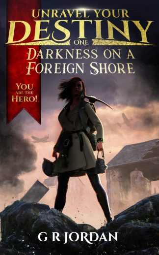Darkness on a foreign shore